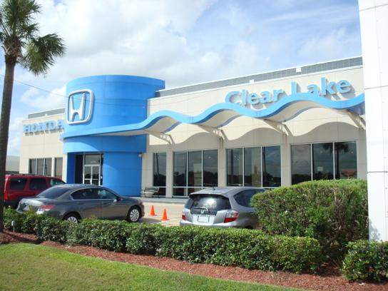 Honda of clear lake car dealership in webster tx 77598 for Honda dealerships in houston