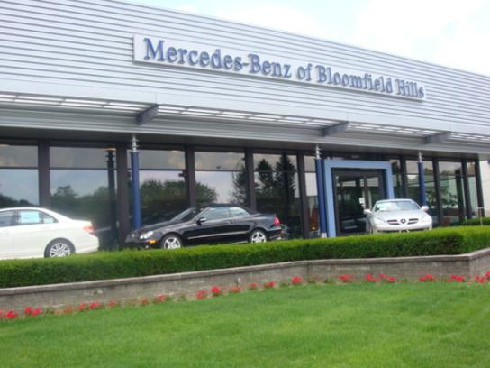Mercedes benz of bloomfield hills bloomfield hills mi for Mercedes benz bloomfield mi