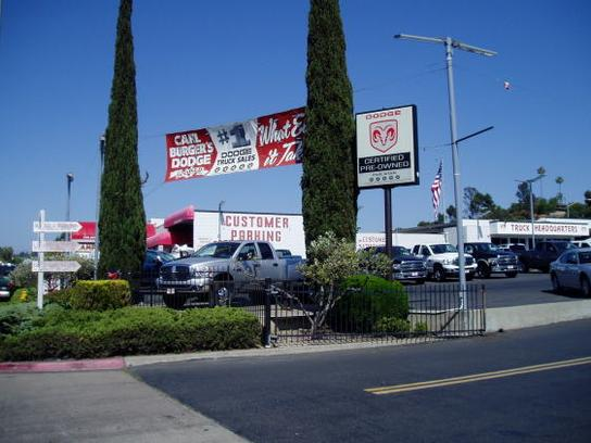Carl Burger Dodge Used Cars >> Carl Burger Dodge RAM SRT Chrysler Jeep World : LA MESA, CA 91942-2921 Car Dealership, and Auto ...