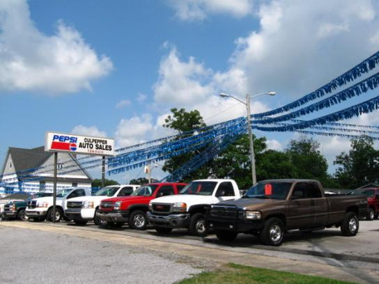 culpepper auto sales inc car dealership in cullman al