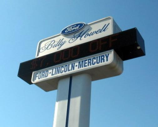 Billy Howell Ford Lincoln 1