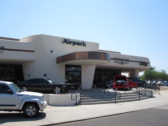 airpark dodge chrysler jeep car dealership in scottsdale