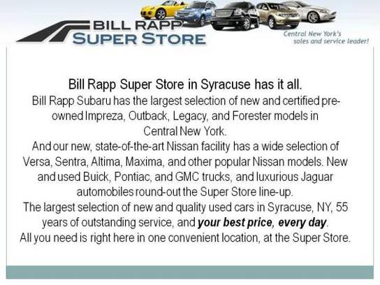used cars for sale syracuse ny bill rapp used cars. Black Bedroom Furniture Sets. Home Design Ideas