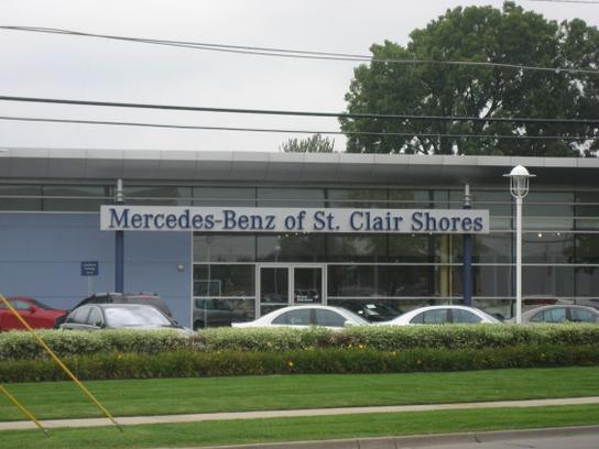 Mercedes benz of st clair shores st clair shores mi for Mercedes benz of saint clair shores