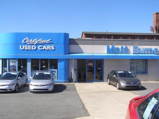 Matt Burne Honda Car Dealership In Scranton Pa 18509