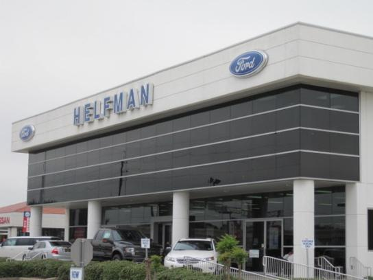 Helfman Ford HoustonSouthwest Freeway Stafford TX Car - Ford dealership houston