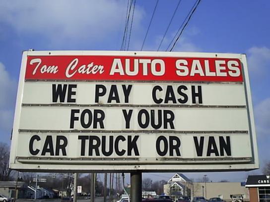 tom cater auto sales car dealership in toledo oh 43613 kelley blue book. Black Bedroom Furniture Sets. Home Design Ideas