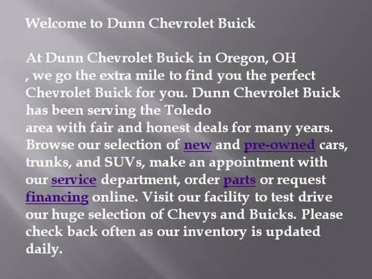 Dunn Chevrolet Buick 1