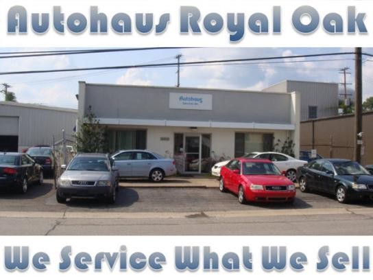 autohaus royal oak royal oak mi 48073 car dealership and auto financing autotrader. Black Bedroom Furniture Sets. Home Design Ideas