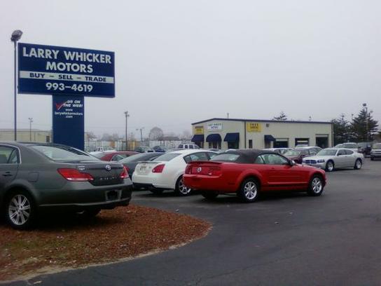 Larry Whicker Motors Car Dealership In Kernersville Nc