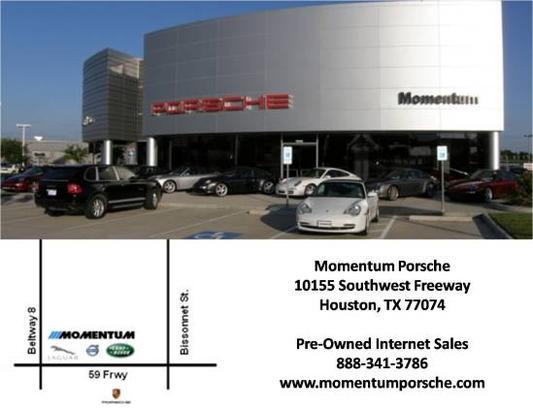 Momentum Porsche Houston Tx 77074 Car Dealership And