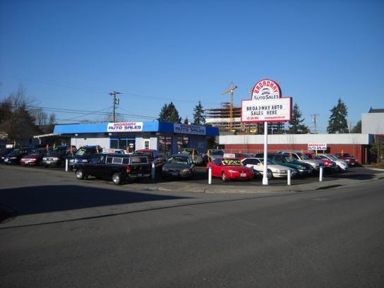 Car Dealers Broadway Everett Wa