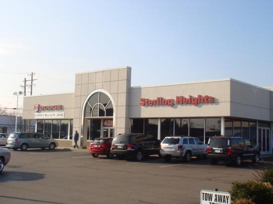 sterling heights dodge chrysler jeep sterling heights mi 48313 3730 car dealership and auto. Black Bedroom Furniture Sets. Home Design Ideas