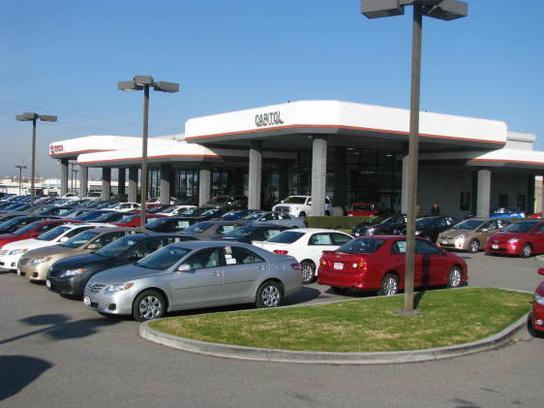 Capitol Toyota Ca San Jose Ca 95136 Car Dealership