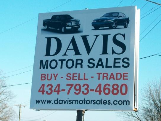 davis motor sales car dealership in danville va 24540