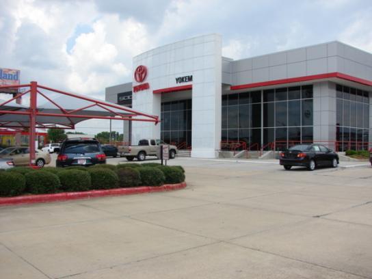 Yokem Toyota Scion Shreveport La 71105 Car Dealership