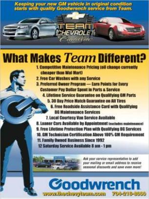 team chevrolet cadillac buick gmc salisbury nc 28147 car dealership. Cars Review. Best American Auto & Cars Review