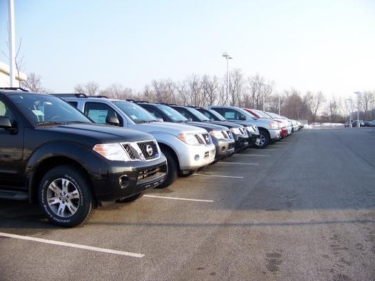 Nissan dealership chesterton in used cars bob rohrman for Burns motors used cars