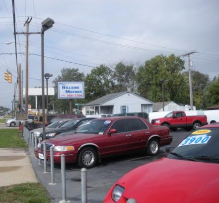 hillside motors car dealership in schererville in 46375