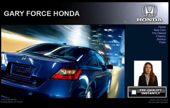 Gary Force Honda : Bowling Green, KY 42104 Car Dealership ...