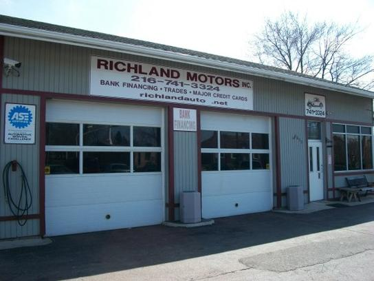 richland motors inc car dealership in cleveland oh 44109