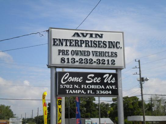 Avin Enterprises Inc.