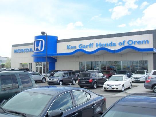Ken garff honda of orem car dealership in orem ut 84058 for Honda dealership utah