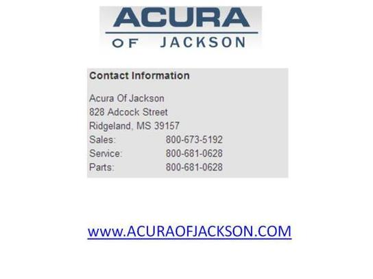 Acura Of Jackson Ridgeland MS Car Dealership And Auto - Acura of jackson used cars