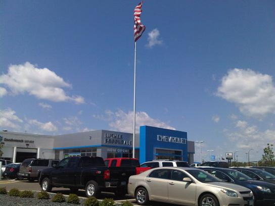 Minneapolis Car Dealers >> Luther Brookdale Chevrolet Buick GMC car dealership in ...