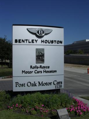 Bentley Houston A Division Of Post Oak Motor Cars Car