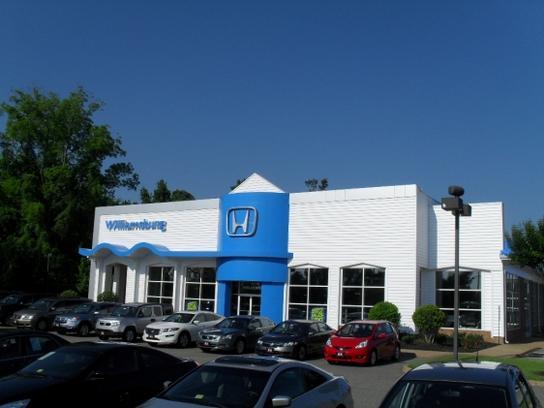 Williamsburg honda hyundai williamsburg va 23188 7219 for Honda dealerships in va