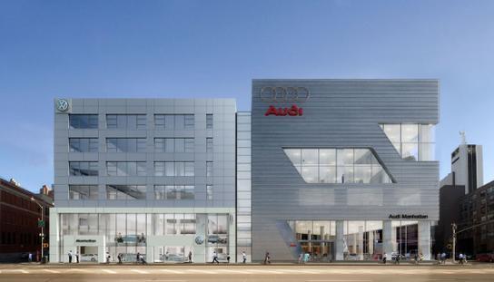 Audi Manhattan New York Ny 10019 Car Dealership And Auto