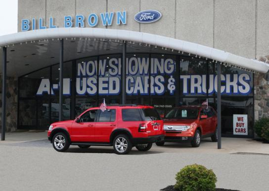bill brown ford livonia mi 48150 car dealership and auto financing autotrader. Black Bedroom Furniture Sets. Home Design Ideas