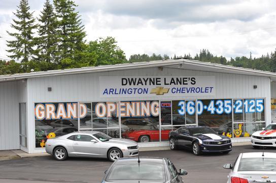 Dwayne Lane S Arlington Chevrolet Arlington Wa 98223