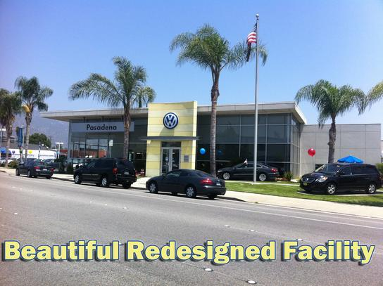 Volkswagen Pasadena Car Dealership In Pasadena Ca 91107
