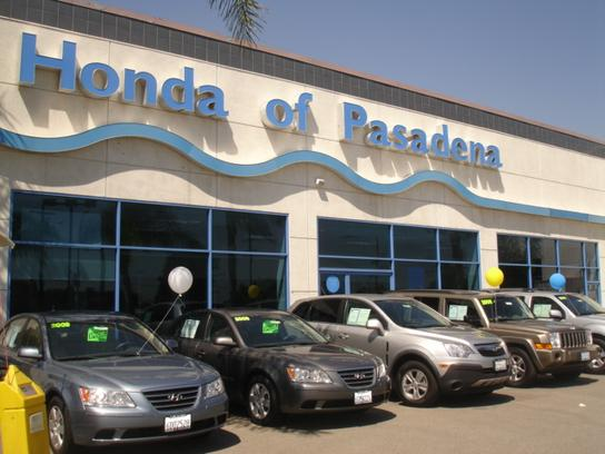 honda of pasadena pasadena ca 91107 car dealership and