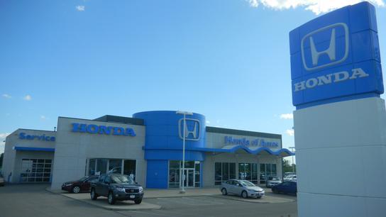 Honda of ames car dealership in ames ia 50010 kelley for Honda dealers in iowa