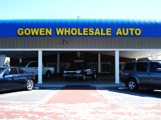 Gowen Wholesale Auto