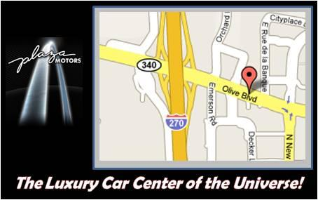 Plaza Lexus Car Dealership In Creve Coeur Mo 63141