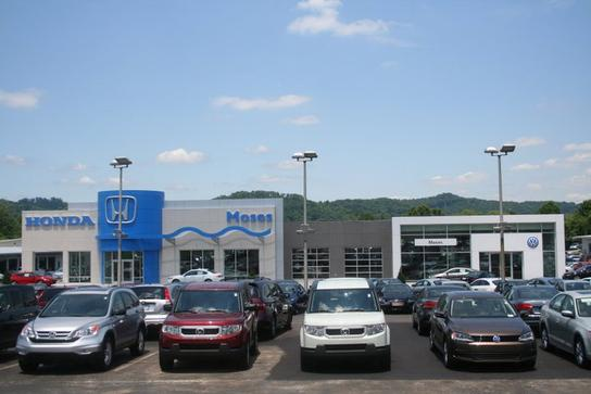 moses honda vw car dealership in huntington wv 25705