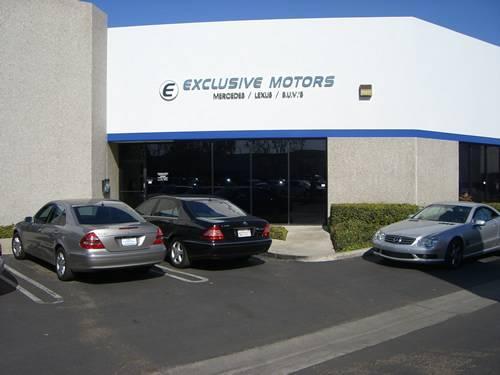 Exclusive Motors Placentia Ca 92870 Car Dealership And