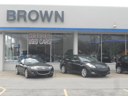 brown mazda toledo oh 43615 car dealership and auto financing autotrader. Black Bedroom Furniture Sets. Home Design Ideas