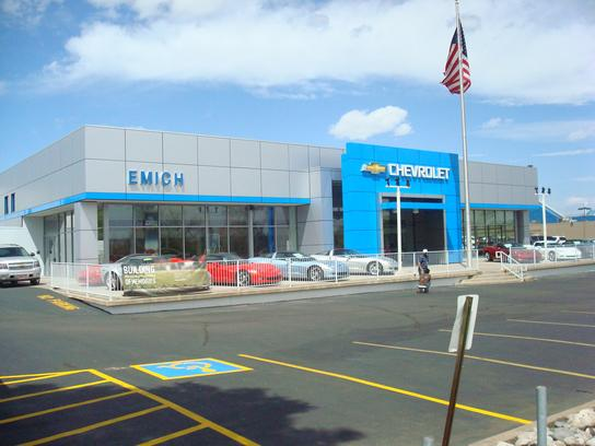 emich chevrolet car dealership in denver co 80227 kelley blue book. Cars Review. Best American Auto & Cars Review