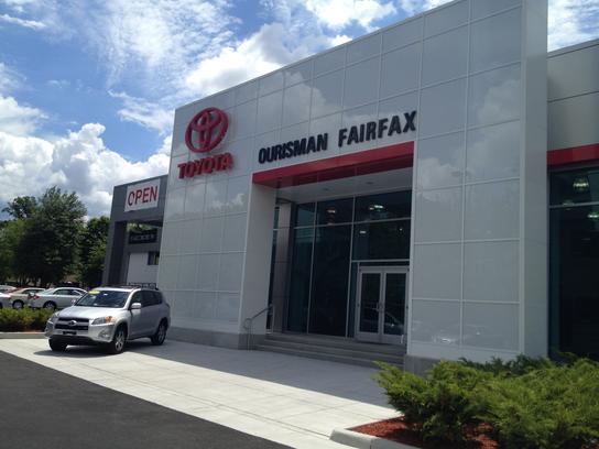 Ourisman Fairfax Toyota Car Dealership In Fairfax Va