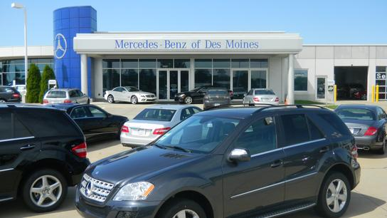 mercedes benz of des moines car dealership in urbandale