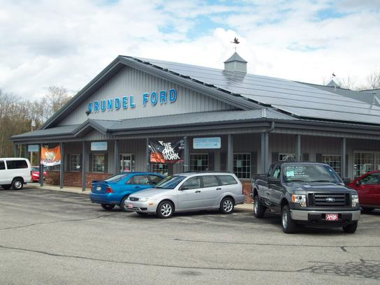Arundel ford car dealership in arundel me 04046 kelley for Southern maine motors service