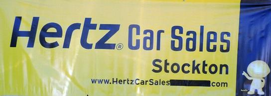 Stockton Hertz Rental Car
