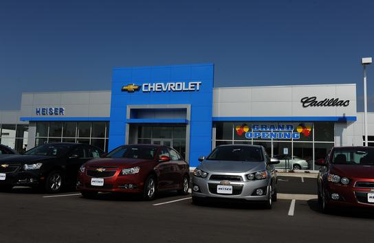 heiser chevrolet cadillac of west bend inc west bend wi 53095 car dealership and auto. Black Bedroom Furniture Sets. Home Design Ideas