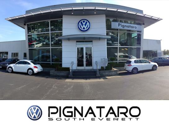 pignataro volkswagen car dealership  everett wa  kelley blue book