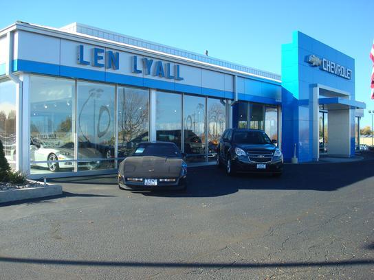Len Lyall Chevrolet Aurora Co 80011 Car Dealership And